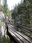 Bow Valley Canyon path
