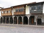 Cusco balconies