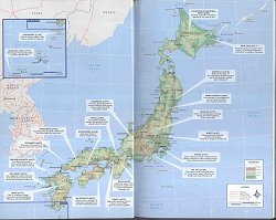 Holiday In Japan - Japan map lonely planet