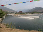 Punakha two rivers