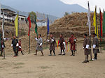 Thimpu archery circle