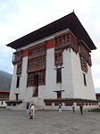 Thimpu dzong tower