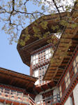 Trongsa watchtower close